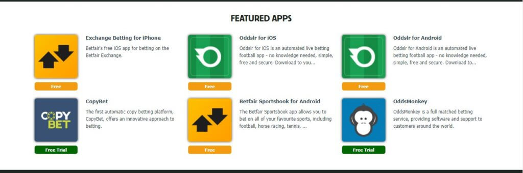 Betfair Mobile Apps