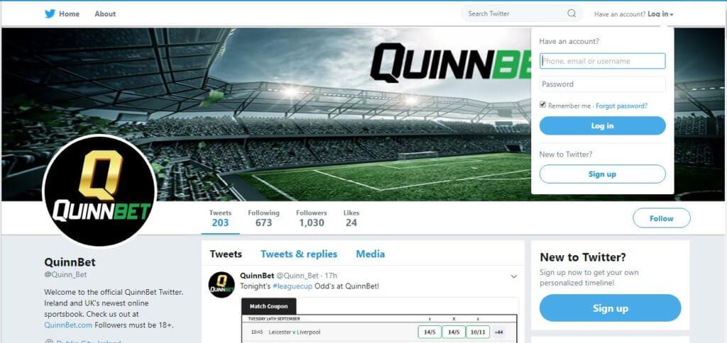 Quinnbet Twitter