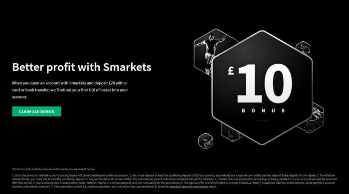 Smarkets Promotion Code