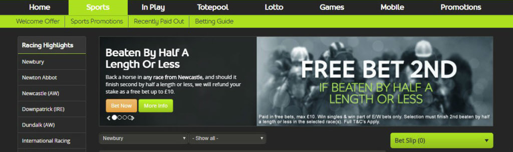 Totesport Horse Racing Betting