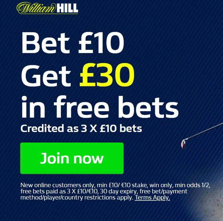 William Hill Free Bet Promo Code